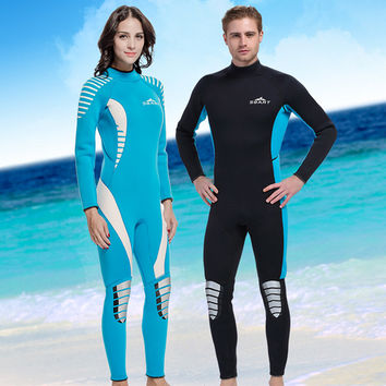 H747SBART Neoprene Wetsuit 3MM Surfing Wetsuits Women Mens Full Body Wet Suit Spearfishing Scuba Diving Suit Traje Neopreno