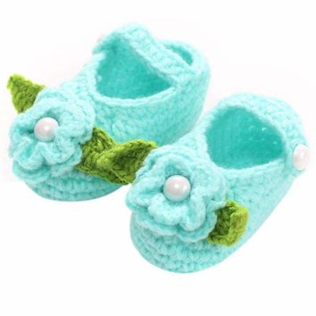 Baby Girls Shoes Handmade Crochet Booties