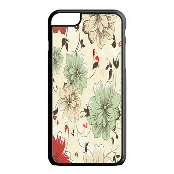 Vintage Flower iPhone 6S Plus Case