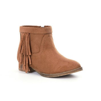 GB Girls Fringe-Girl Fringe Booties | Dillards
