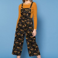 Foxy Loxy Overalls