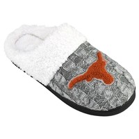 Texas Longhorns Letter Slippers - Women's (Grey)