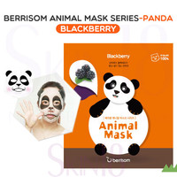 Berrisom Animal Mask series - Panda (Blueberry)  *exp.date 02/18*