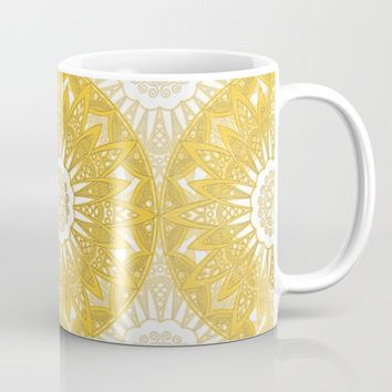 Orange Mandala Mug by Stefanie Juliette