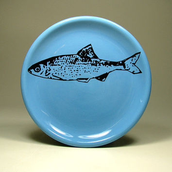 little plate fishy - Made to Order / Pick Your Colour