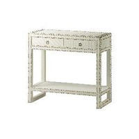 Bungalow 5 Marco Large Side Console In White - Bungalow-5-marco-lg-side-cons-wh  | Candelabra, Inc.