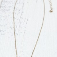 With Love From CA Honeycomb Charm Necklace - Womens Jewelry - Gold - One