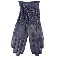WARMEN Design Women Nappa Leather Elbow Long Gloves Tip for Winter Fur Overcoat