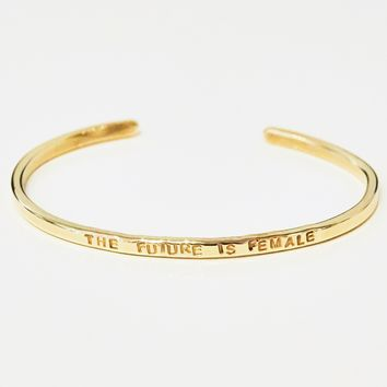Future is Female Bracelet