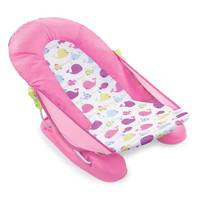 Summer Infant Mother's Touch Comfort Deluxe Baby Bather - Pink Whale