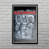 Iron Maiden Eddies Maxi Poster Print Tshirt Fan Steve Harris Rock Music LP13