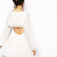Free People Gentle Dreamer Dress in Lace