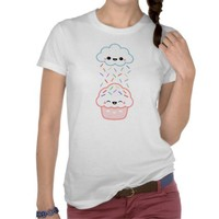 Cute Cupcake with Sprinkles Shirts from Zazzle.com