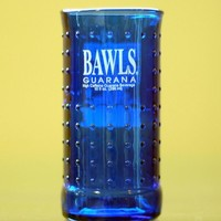 YAVA Glass  Recycled Bawls Guarana Bottle Glass by YAVAglass