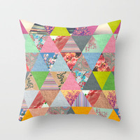 Lost in ▲ Throw Pillow by Bianca Green | Society6