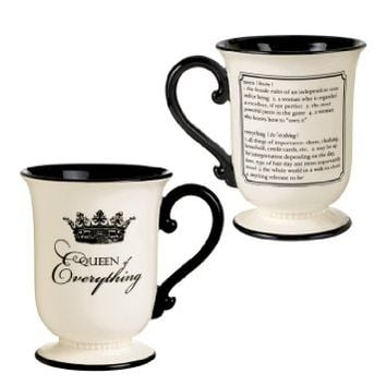 Grasslands Road Her Majesty 14-Ounce Queen of Everything Mug