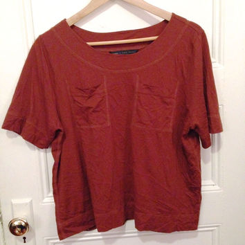 Burnt Sienna Marc Tee (Marc by Marc Jacobs)