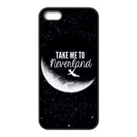 Take Me to Never Land Hard Protective Back Cover Case for iPhone 5 5s