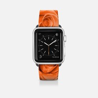 Orange Roses 5 Apple Watch Band (42mm) by Christy Leigh | Casetify