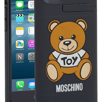 Moschino 'Bear' iPhone 6 & 6s Charging Case | Nordstrom
