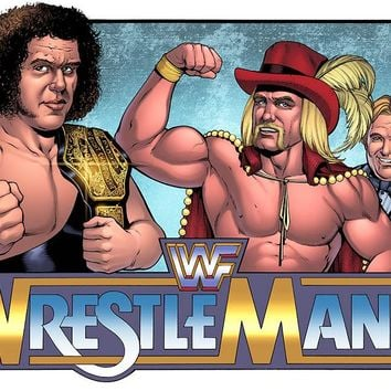 WRESTLEMANIA WHAT IF? -- WWE CHAMPIONSHIP -- ANDRE the GIANT vs THUNDERLIPS