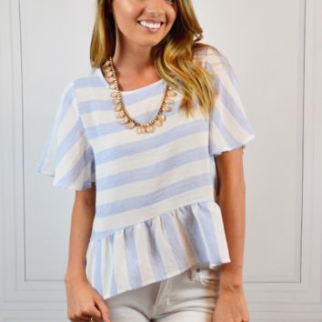 Love At First Stripe Top