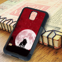 Unicorn And Red Sky Samsung Galaxy S5 Case