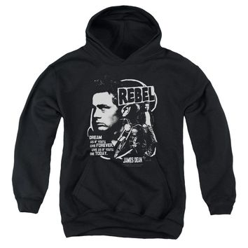 Dean - Rebel Cover Youth Pull Over Hoodie