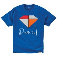 Diamond Supply Co Painted T-Shirt - Men's at CCS