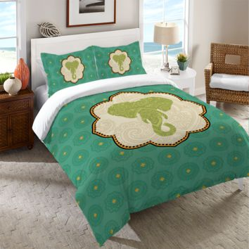 Elephant Dreams II Duvet Cover