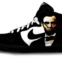 Abraham Lincoln Nike Dunks
