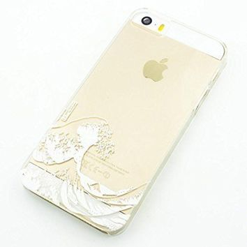 Plastic Case Cover for iPhone 5 5S 5C 6 6Plus Henna Kanagawa Wave Japan tsunami