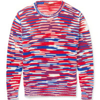 Raf Simons - Sterling Ruby Striped Crew Neck Sweater | MR PORTER