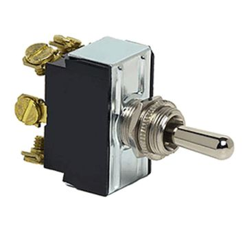 Cole Hersee Heavy Duty Toggle Switch DPDT (On)-Off-(On) 6 Screw