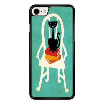Still Life With Cat Sitting On Chair iPhone 7 Case