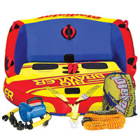 Gladiator Big Brawler 2-Person Towable Tube Package - Overton's