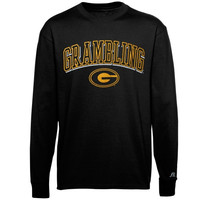 Grambling Tigers Russell Sideline Long Sleeve T-Shirt – Black