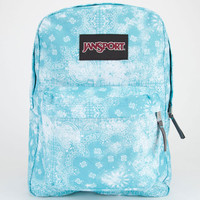 Jansport Superbreak Backpack Bayside Blue Bandana One Size For Men 22383220001