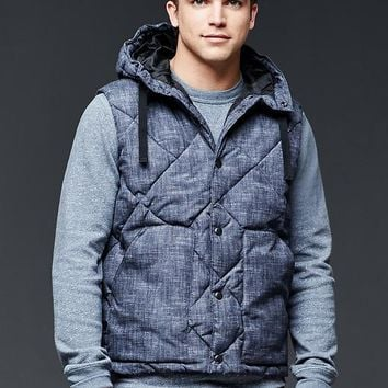 Gap Men Primaloft Hooded Vest