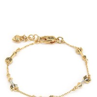 Multi Pave Arrow Station Bracelet by Juicy Couture
