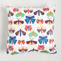 MothCloth Pillow | Mod Retro Vintage Decor Accessories | ModCloth.com