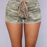Soldier Of Fortune Shorts - Camo
