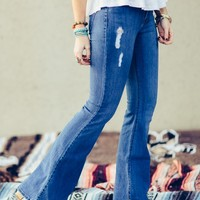 Walker Flare Stretch Jeans