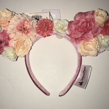 Disney Epcot Flower & Garden 2019 Minnie Ears Headband One Size New with Tags