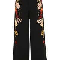 Embroidered Pants | Topshop