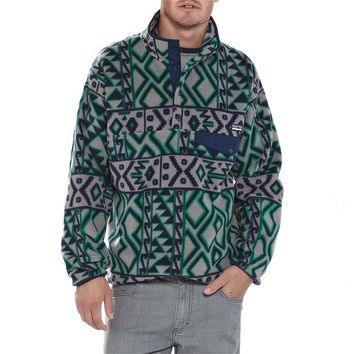 Patagonia Men's Synchilla® Recycled Snap-T® Fleece Pullover