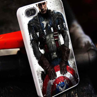 Avengers Captain America customized iphone4/4s/5/5s/5c, samsung galaxy s3/s4/s5, and ipod 4/5