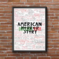 American Horror Story Evan Peter Photo Poster
