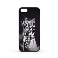 Sleeping With Sirens Song iPhone 5 / 5s Case