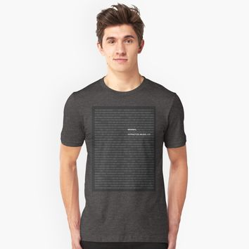 'Numbers | Minimal' T-Shirt by hypnotzd